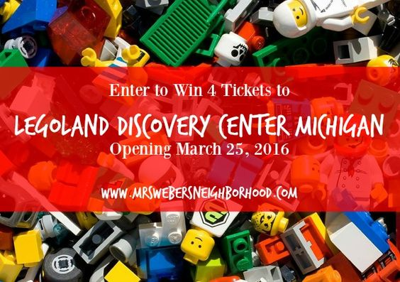 I am a LEGOLAND® Discovery Center Michigan Ambassador and will receive tickets in exchange for