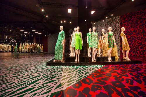 Inside DVF's Stunning Wrap Dress Exhibit in LA   tbhunkydory