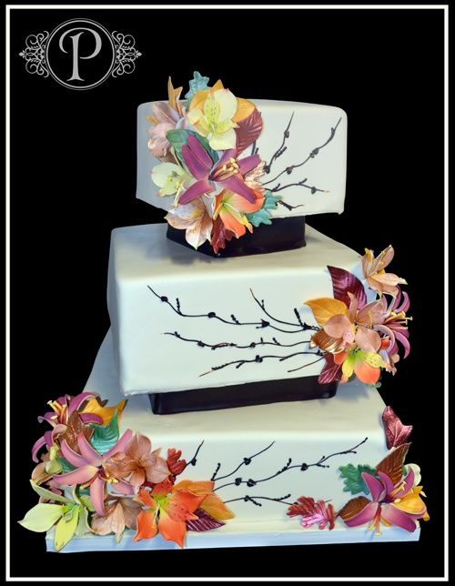 wow!  This is a gorgeous cake...I want one when I turn 50.  : ))