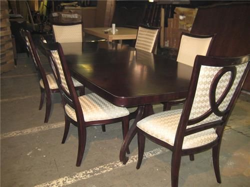 Thomasville Dining Room Sets Discontinued Dining Room Sets Double Pedestal Dining Table Thomasville