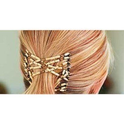 Ez Combs Double Stretching Combs, Thick and Thin Hair, New Hair Accessory for Popular Hairstyles