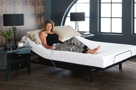 Crafmatic Adjustable Bed Frame Queen Design In 2020 Adjustable Beds Bed Frame Adjustable Bed Frame