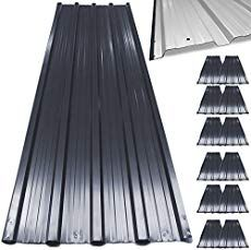 Pros Cons Of Metal Roofing Hometips Metal Roof Houses Metal Roofing Materials Corrugated Metal Roof