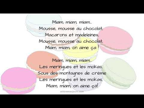 Miam Miam Youtube Miam Mousse Au Chocolat Macaron