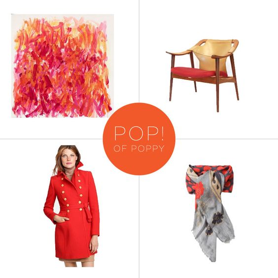 bright-colored coats- must have!