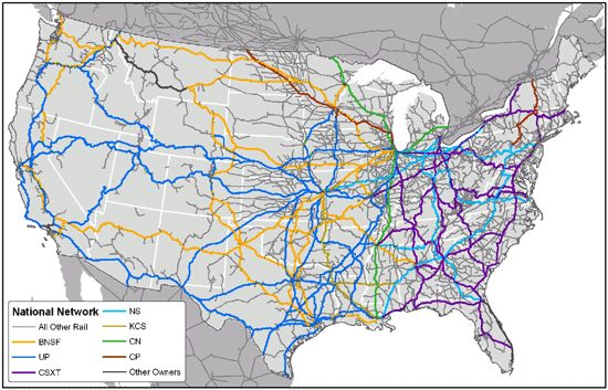 Magnetic Ley Lines In America The Map Shows The Freight Rail - Ley lines in the us map