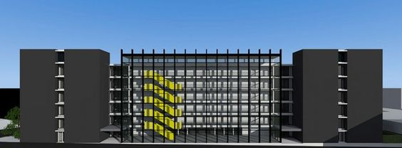 Wintec Student Housing - Ian Moore Architects Exterior View #architecture #architecturaldesign #modern #apartmentdesign