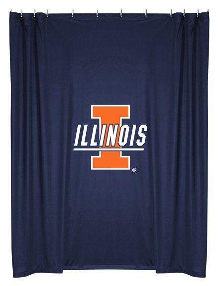 ATHLEZ - Illinois Fighting Illini Shower Curtain
