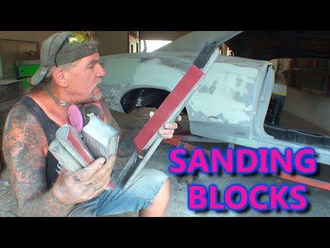 What Kind Of Block Sander Is Best To Use Bondo And Primer Sanding School Videos Primer Sanding