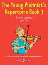 The Young Violinist's Repertoire, Book 3 (Violin & Piano) (Book)