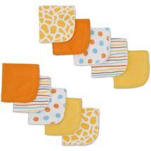 Walmart: Gerber Newborn Baby Bath Essentials 10-Pack Washcloth Set