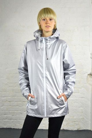 Rains Breaker Limited Edition Silver Jacket | The Mercantile ...