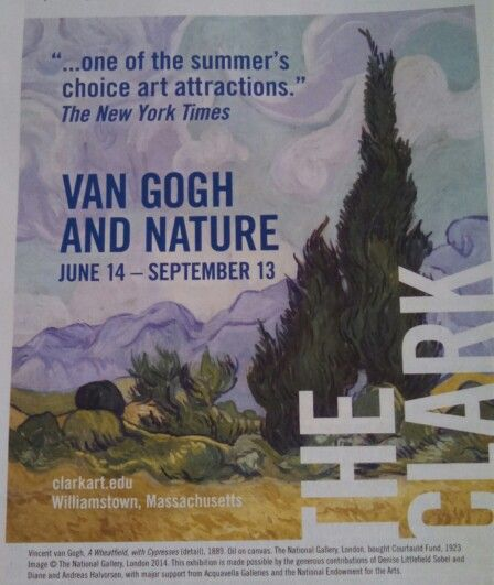 Van Gogh exhibit. Amazing artwork by such a sadly tragic genius. If it travels to your area, go see it.