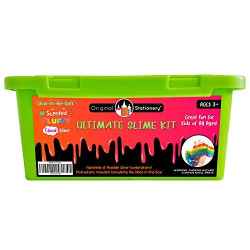 Unicorn Slime Kit Supplies Stuff FOR Girls Making Slime Everything In One Box