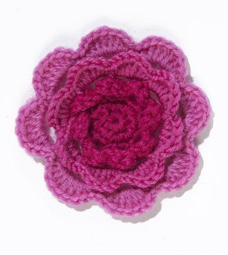 Knitting Rose Pattern : Knitted headband rose patterns and irish on pinterest