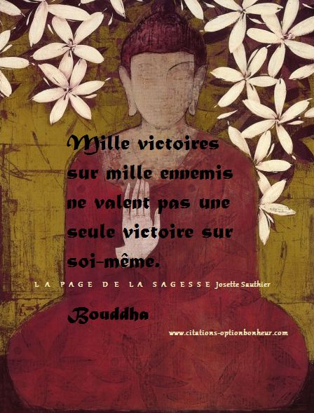 Citations option bonheur: Citations de Bouddha