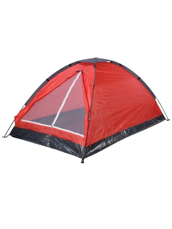 Ein weiteres #Festival #MustHave: Das #Zelt ... hier in rot, ideal für zwei Personen.