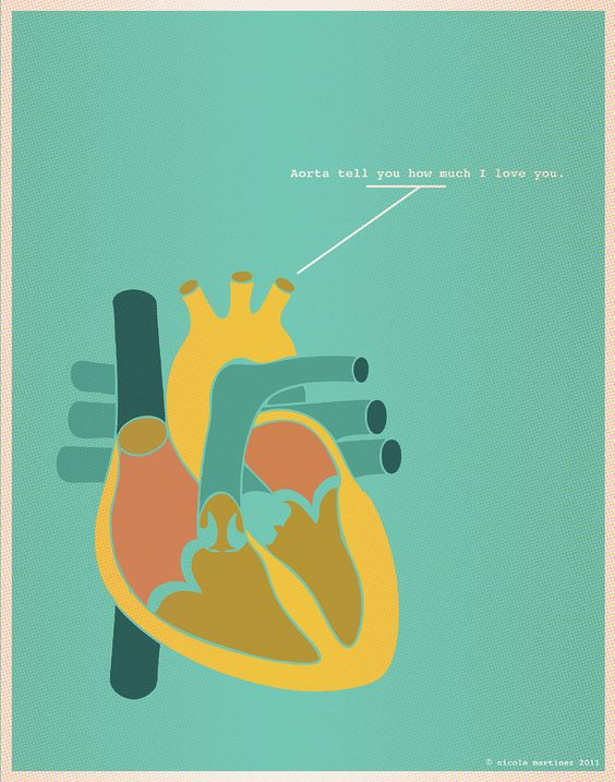 """""""Aorta tell you how much I love you"""""""