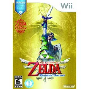The Legend of Zelda: Skyward Sword with Music CD - $39.99