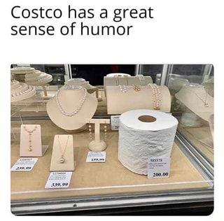 Costco has a great sense of humor