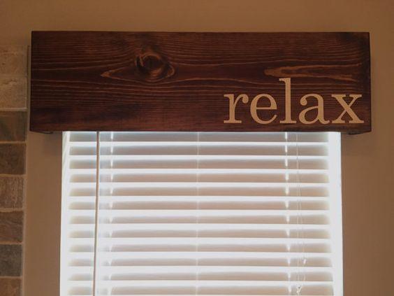 Wooden Window Cornice Valance Box Customizable In Color