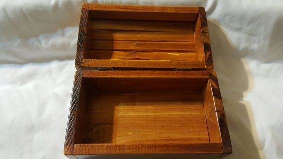 Wooden Box by TheRecycledGreenRose on Etsy