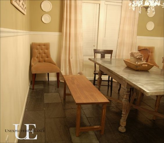 Video tutorial on how to attach legs to bench, table, chair...