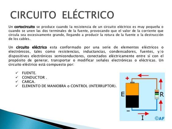 Pin De Yeimi Robles En Circuitos Eléctricos Circuito Eléctrico Imagenes De Electricidad Circuitos Electricos Basicos