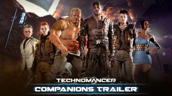 The Technomancer - Companions Trailer (The sci-fi RPG set on Mars releases on June 28 for PS4 XboxOne and PC)