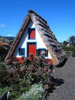A-line cottage, Madeira Island, Portugal