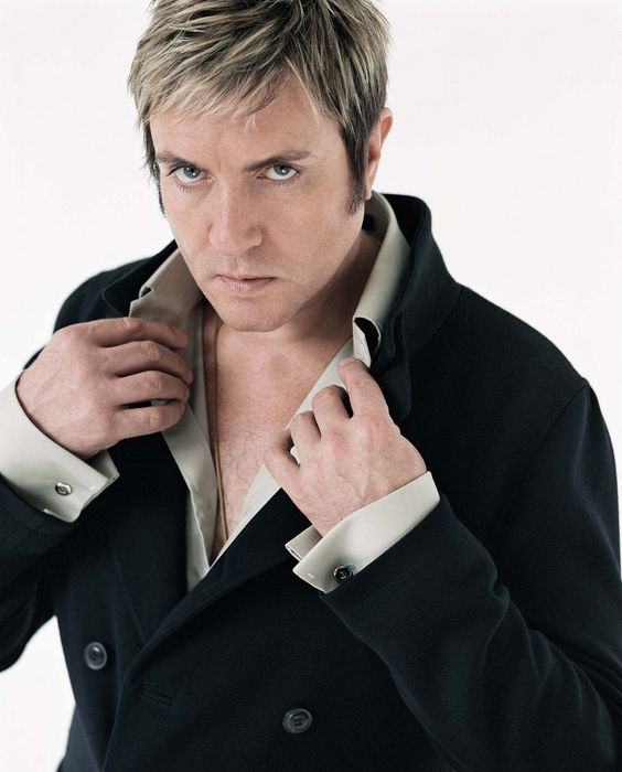 Simon Le Bon - Duran Duran. Interview Magazine: Anderson & Low