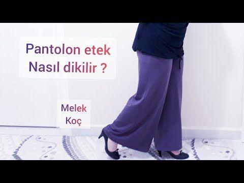 Pantolon Etek Nasil Kesilir Dikilir Youtube Pantolon Etek Dikis Dersleri