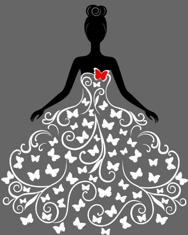 Download Free Creative Wedding Dress Design Vector Illustration 02 under the free Vector People category(ies) at TitanUI.CoM!
