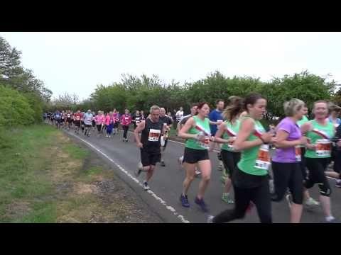 Worthing Bluebells 10 mile run 2015