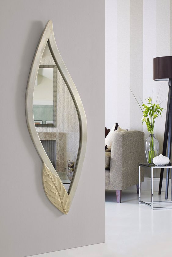 Espejo vestidor pared espejo vestidor decorado espejo en for Espejo pared plata