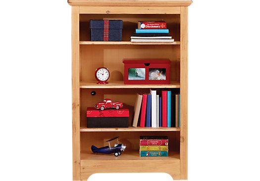 Shop for a Carter's Kids Collection  Lost Creek Pine  Bookcase at Rooms To Go Kids. Find  that will look great in your home and complement the rest of your furniture. #iSofa #roomstogo