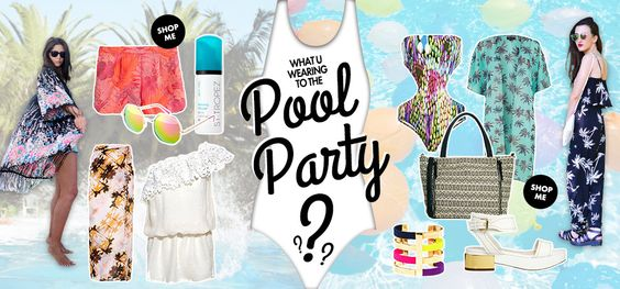 Events and Occasions | What to Wear to | Pool Party | ASOS Fashion Finder