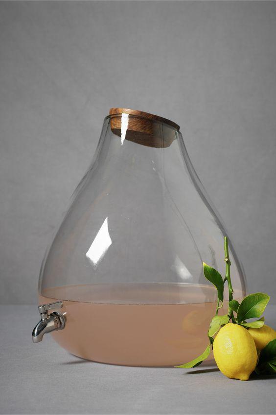 Stout spigot cruet #fresh_lemonade #kitchen #jar
