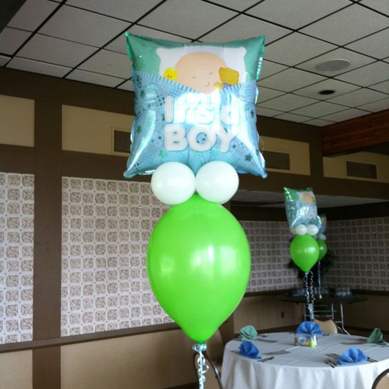 Balloon Ideas for baby shower!
