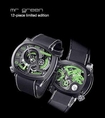 Mr Green - Ladoire Watch Genève