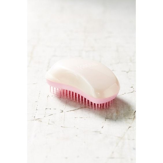 Tangle Teezer Orginal Detangling Hairbrush (1745 RSD) ❤ liked on Polyvore featuring beauty products, haircare, hair styling tools, brushes & combs, tangle teezer, hair brush comb, tangle teezer hairbrush and hair brush