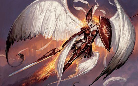 fantasy art angels | Wallpaper: Angels fantasy art artwork