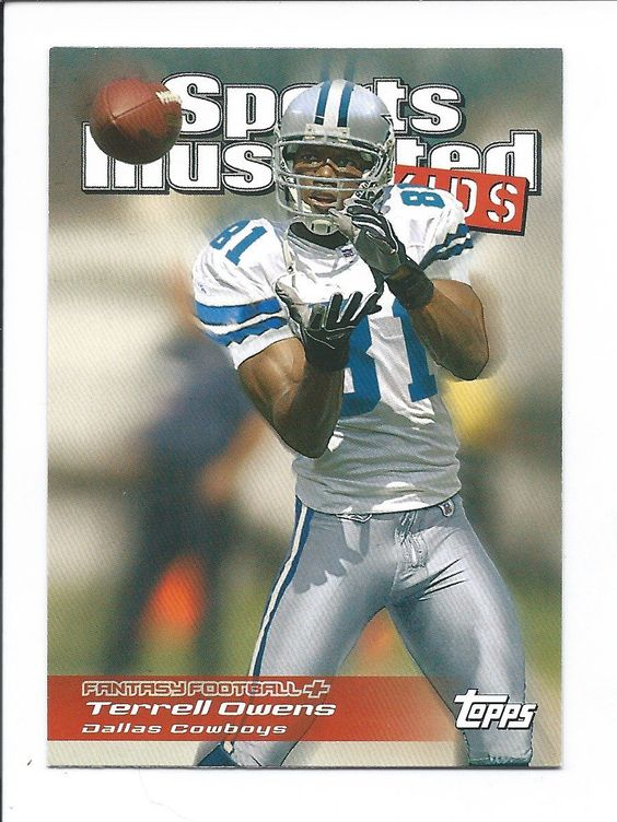 Terrell Owens 2006 Topps Total Sports Illustrated For Kids Insert Card