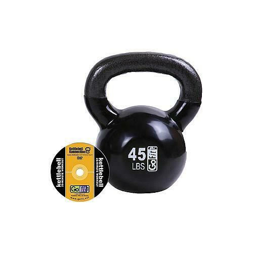 Ad Ebay Gofit 45 Lb Premium Kettle Bell W Introductory Training Dvd Kettlebell Kettlebell Dvd 45 Pounds