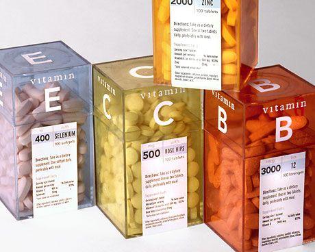 Vitamin - Packaging - Portfolio - Morrow McKenzie Design PD
