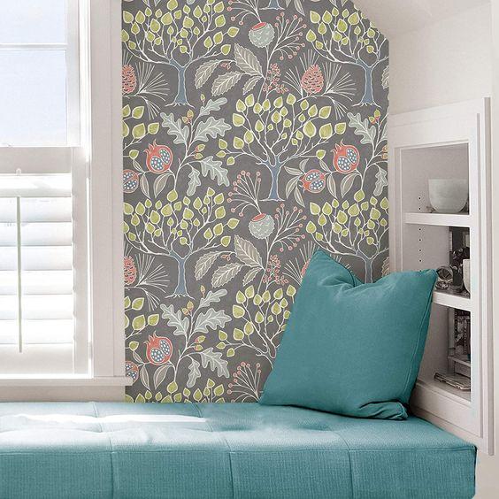 Flowering Desert Wallpaper By York Lelands Wallpaper York Wallpaper Botanical Wallpaper Wall Coverings