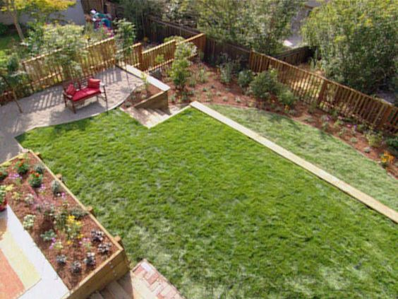 Drawing inspiration from vacation a coastal themed garden for Sloped yard solutions