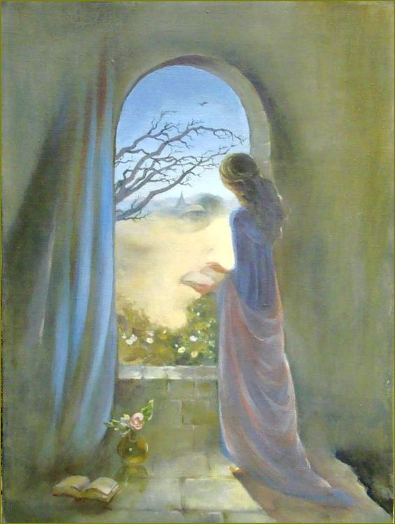 Illusion d'optique et perception en peinture - Elena Moskaleva (1957) Illusion d'optique il et elle
