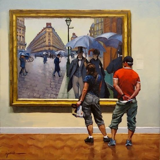 The Art Of Art Appreciation 53 Paintings Of People Looking At