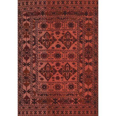 Bloomsbury Market Gorse Traditional Red Brown Area Rug Area Rugs
